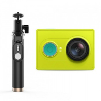 Экшн-камера Xiaomi Yi Action Camera Bluetooth Selfie Stick Kit (желтый/yellow)