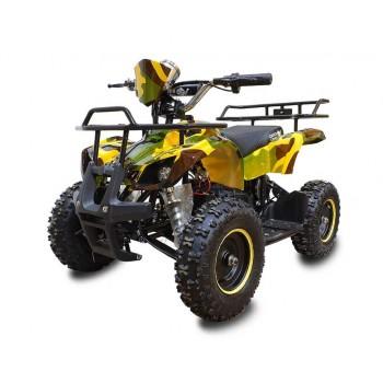Квадроцикл GreenCamel Gobi K21 (36V 800W R6 Цепной привод) Армейский желтый