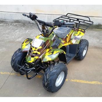 Квадроцикл GreenCamel Gobi K70 (36V 800W R7 Дифференциал) армейский желтый
