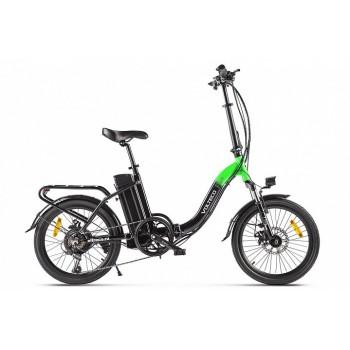 Электровелосипед Volteco FLEX зеленый-черный